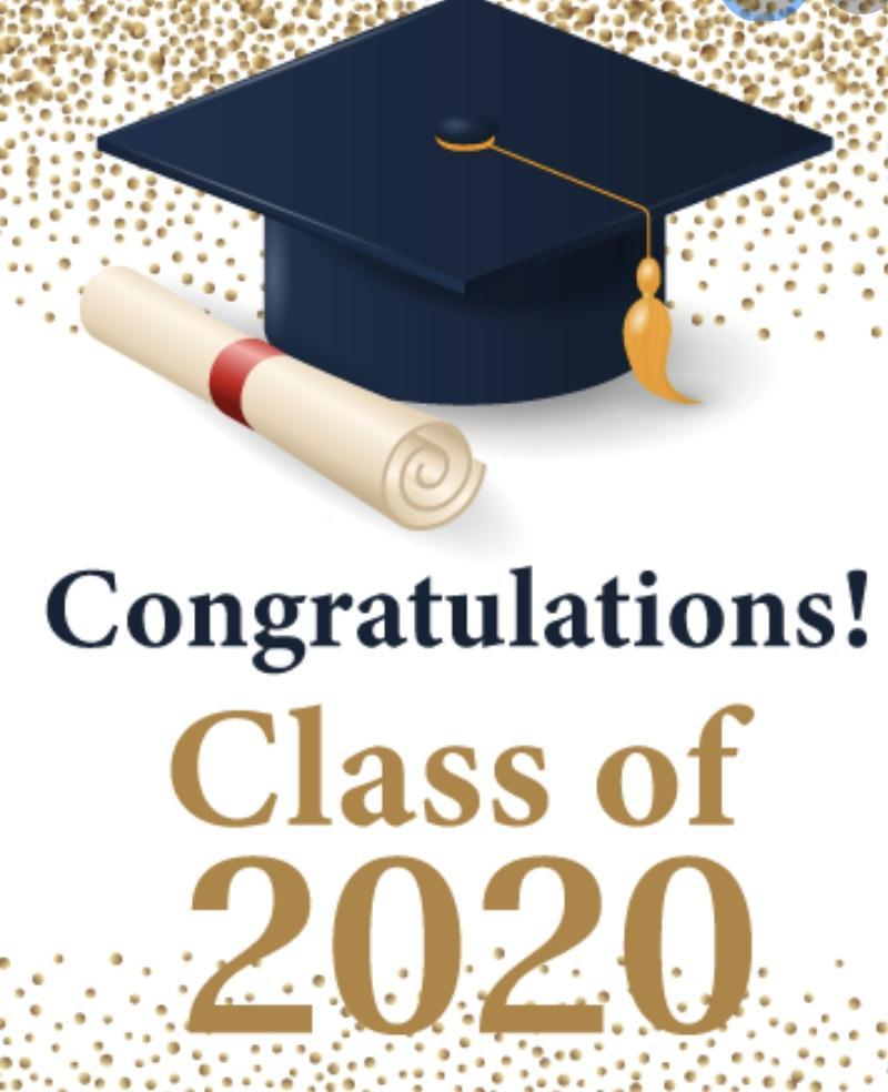 Congratulations Class of 2020 picture