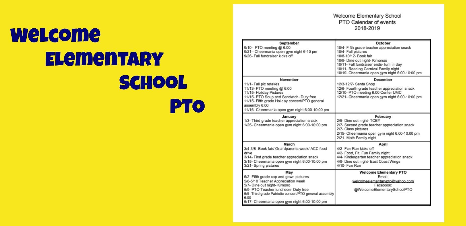 PTO Calendar