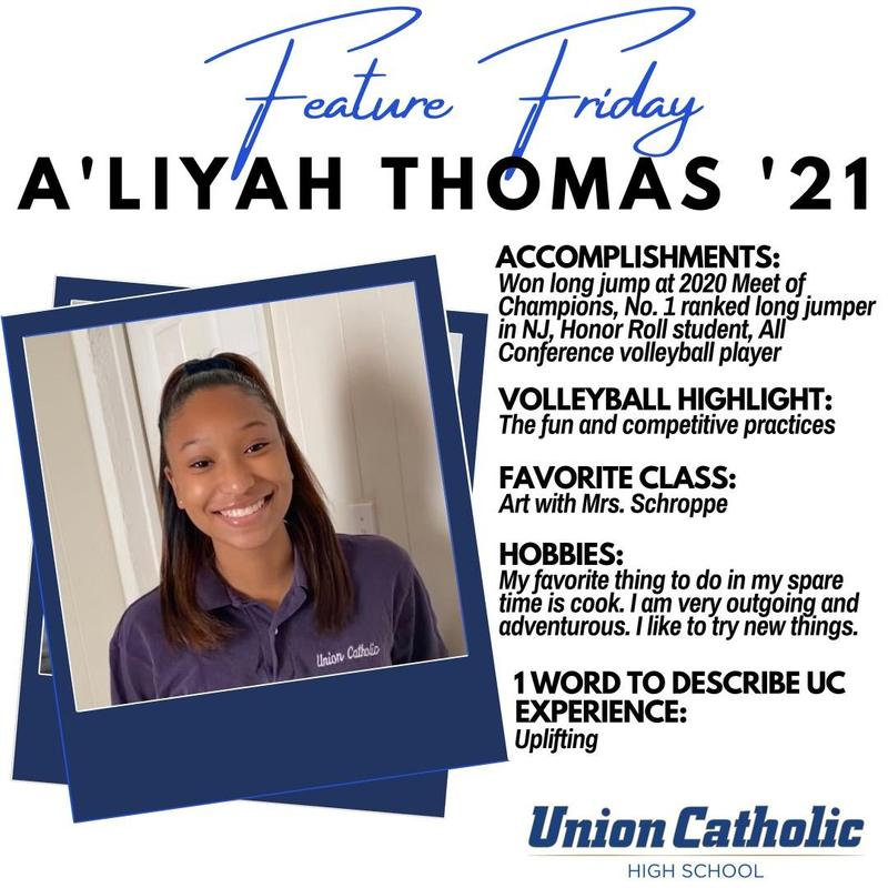 A'Liyah Thomas is Excelling in Two Sports at Union Catholic Thumbnail Image