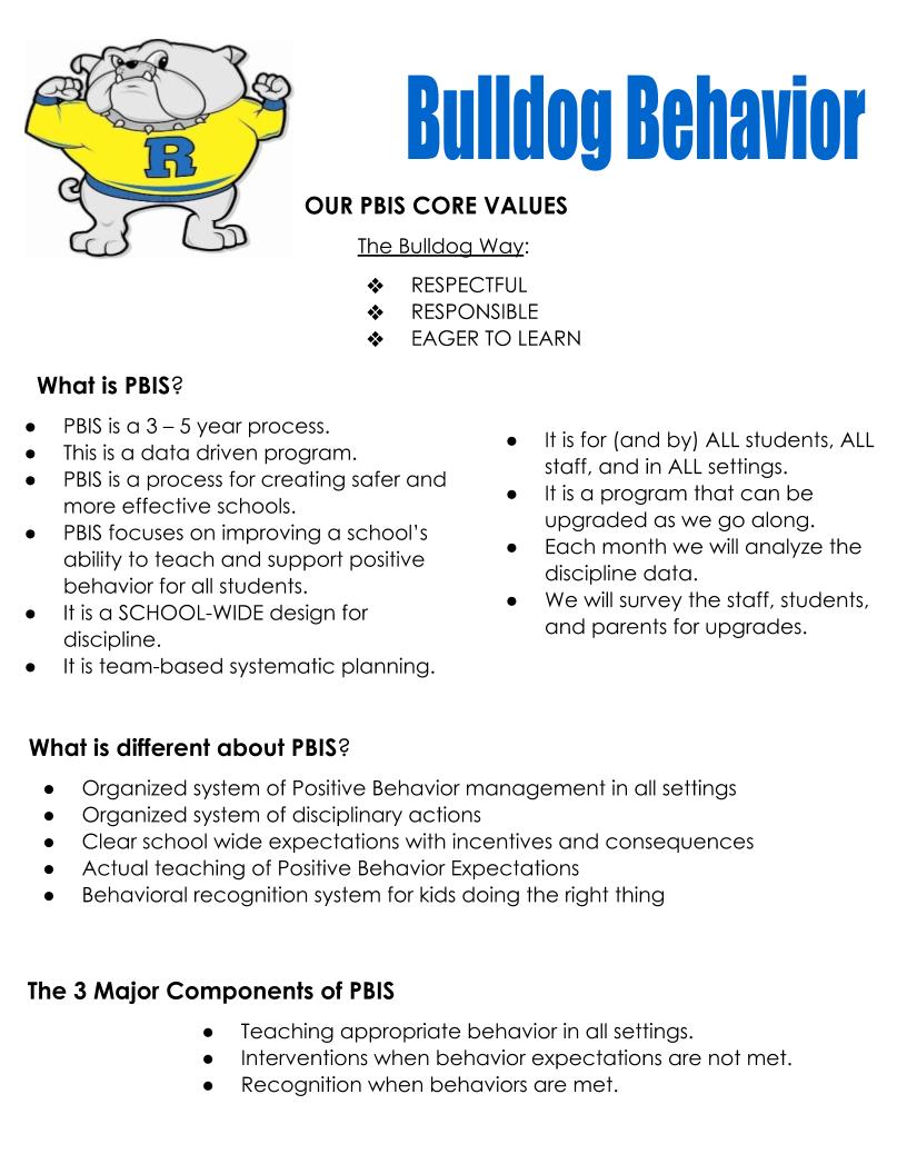 PBIS summary