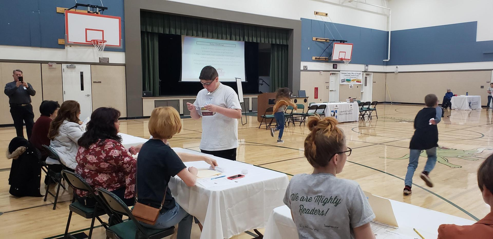 Battle of the Books Relay Challenge