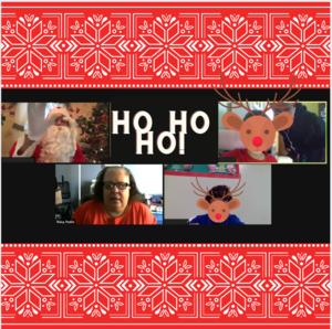 Santa on zoom