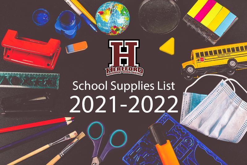 School Supplies Picture