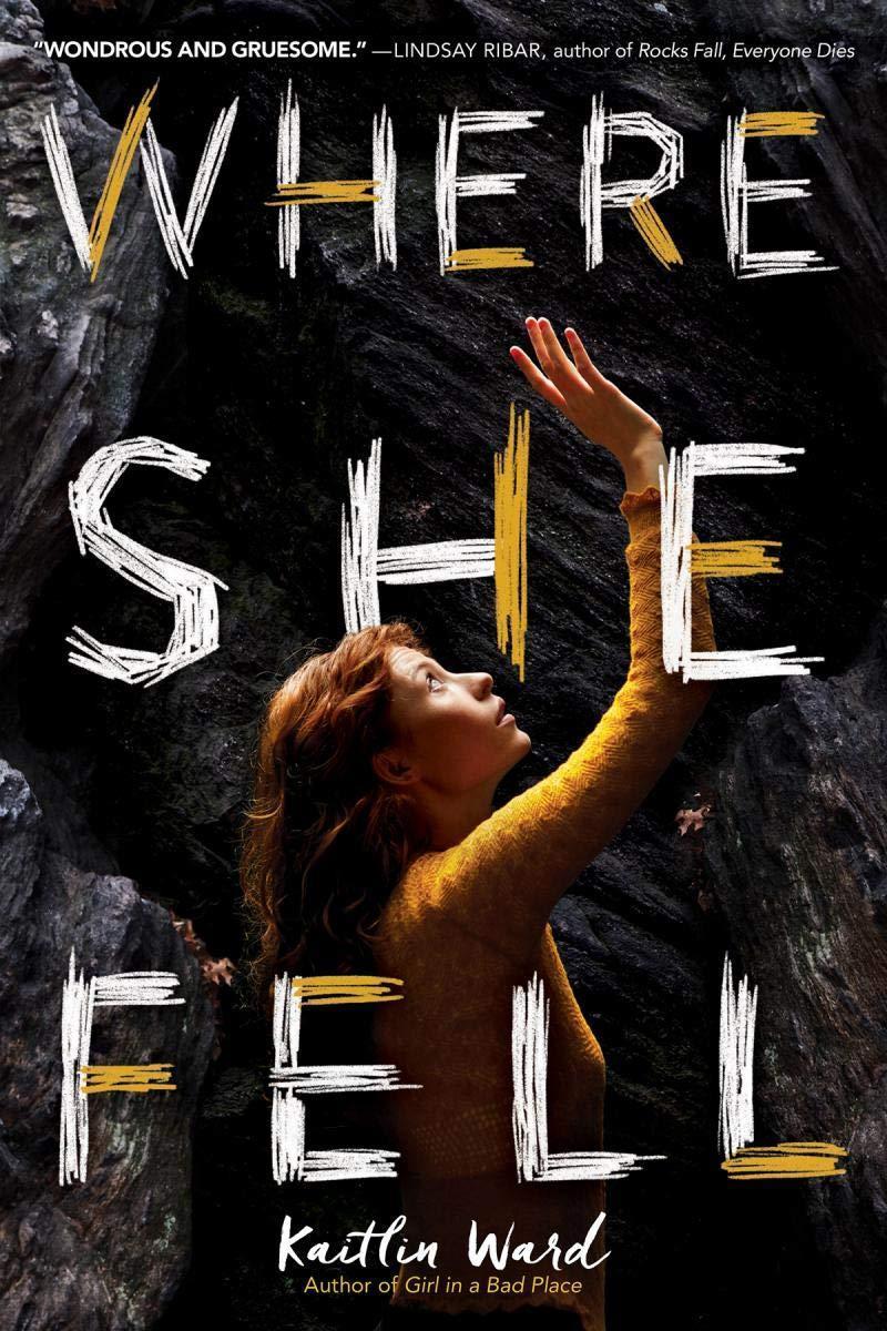 Where she fell