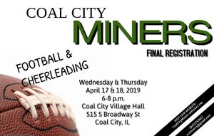 Clip art of Miners Football