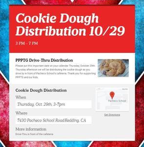 Cookie distribution