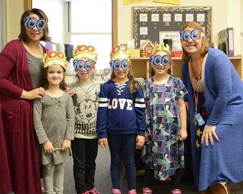 Kindergarten celebrates 100 days in school