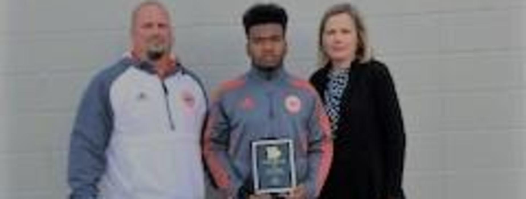 Congratulations to Adrian E. - KLFY Athlete of the Week