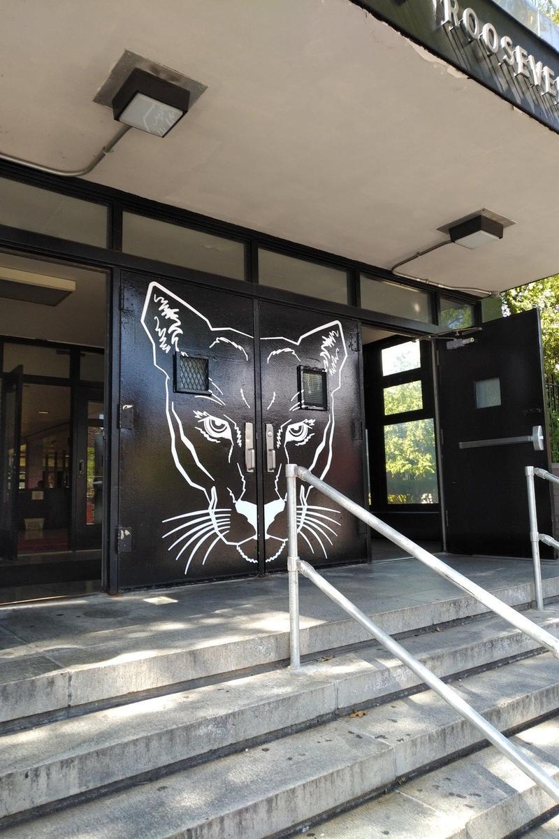 Cougar Entrance