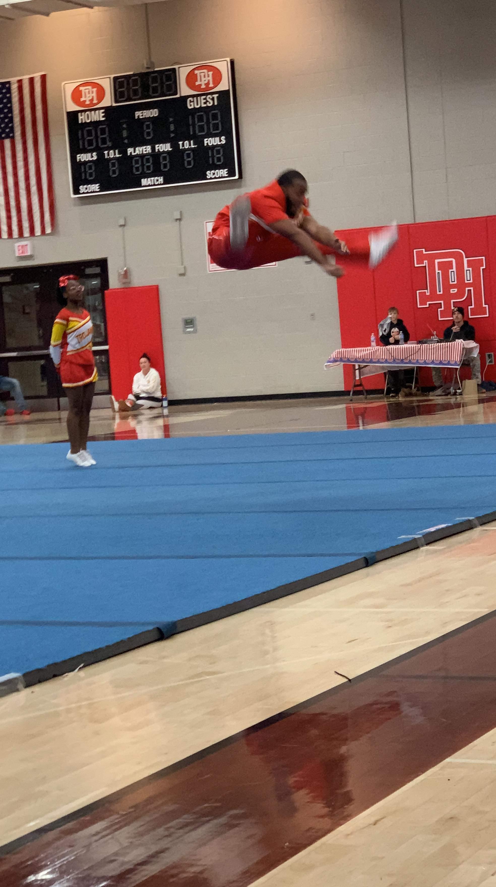 NCH Cheerleader Jason Ridgeway
