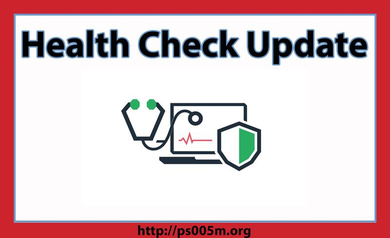 Health Check Update Featured Photo