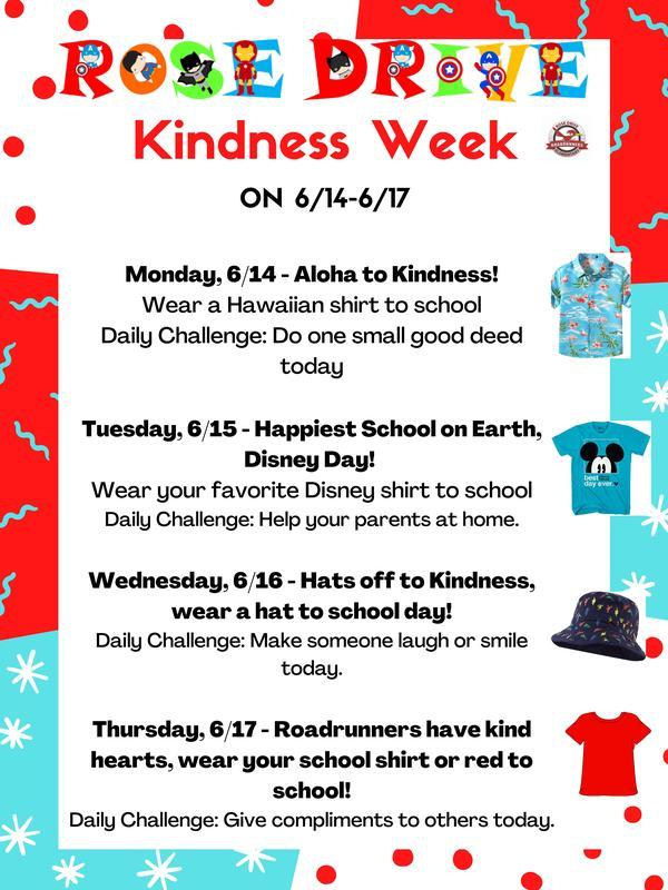 Kindness Week June 14-17