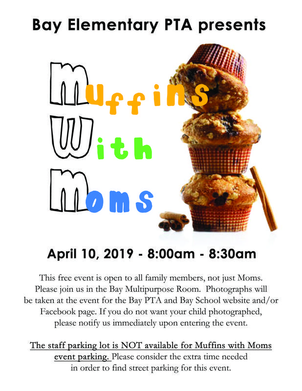 PTA Muffins With Moms April 10th Featured Photo