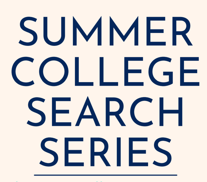 Summer College Search Series Thumbnail Image