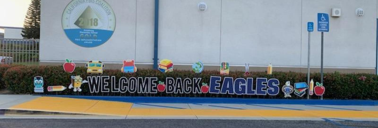 #Armstrongeagles welcomed with laughter, music, welcome back SEL goodie bags and lots of love