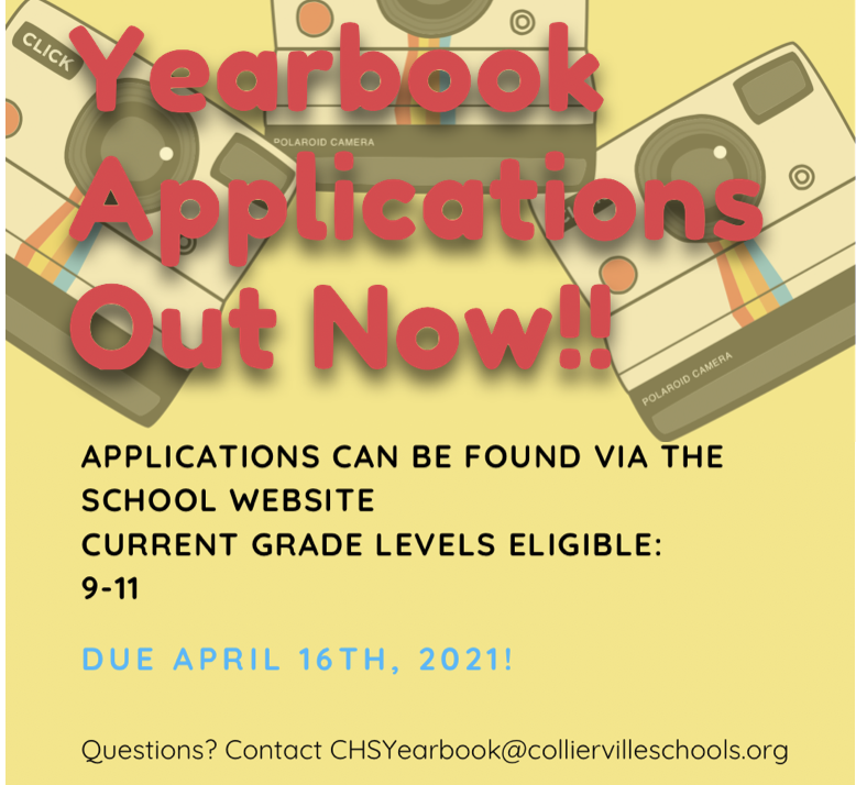 Yearbook Staff Applications OPEN Featured Photo