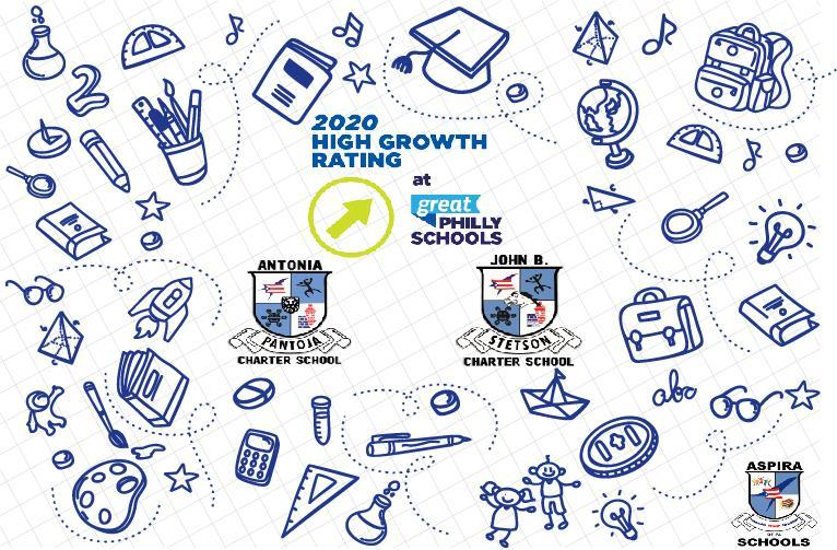PANTOJA AND STETSON BOTH NAMED HIGH GROWTH SCHOOLS BY THE GREAT PHILLY SCHOOLS Featured Photo