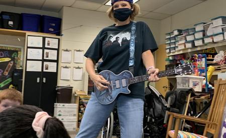 Mrs. McKee is Rockin' at BRE!