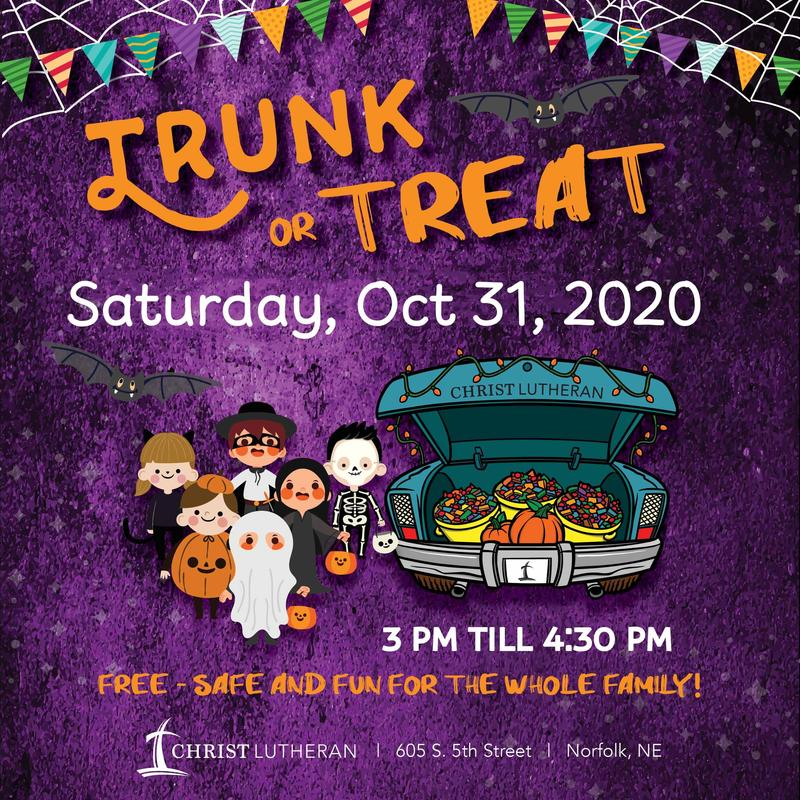 Trunk or Treat--Rescheduled 10/31/20 Featured Photo