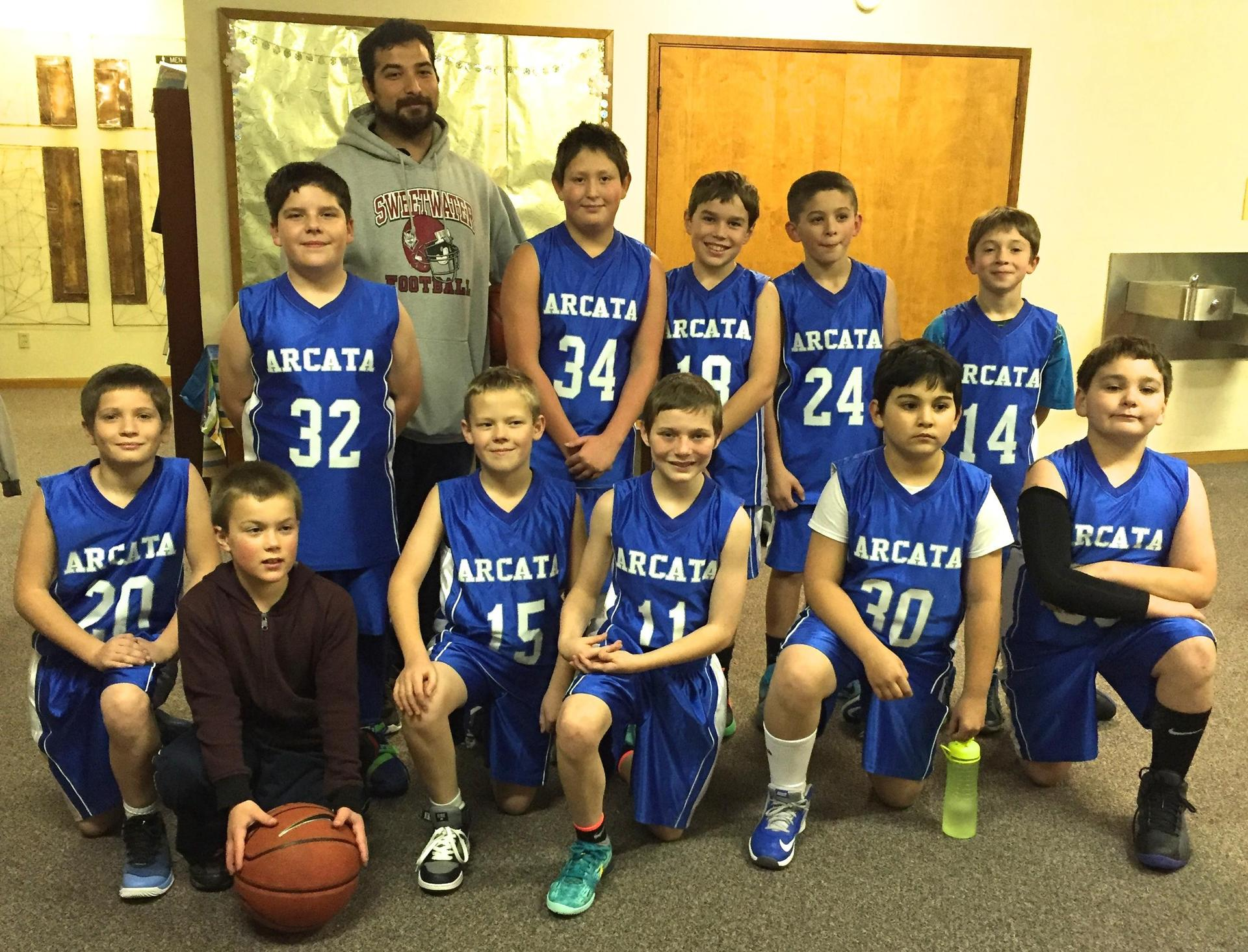 Boys' basketball team