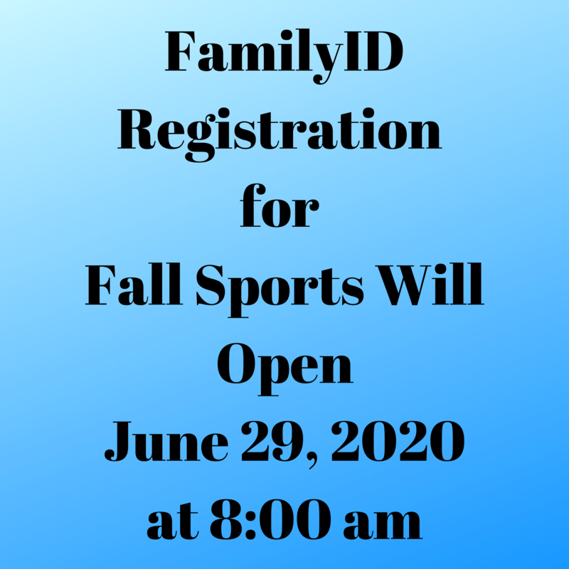 family id athletic registration