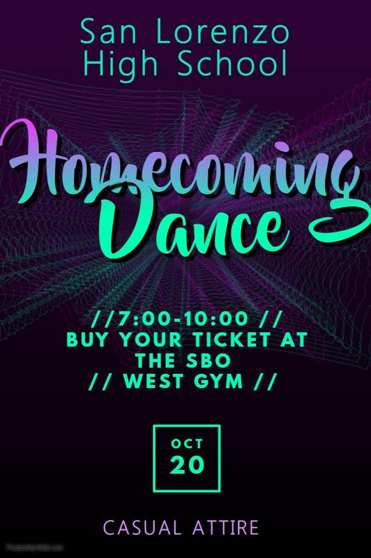 HOCO Dance on 10/20! Featured Photo
