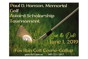Save the date paul hanson golf tournament