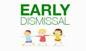 Early Dismissal, Monday thru Friday, October 28-November 1 Featured Photo