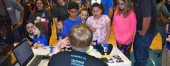 More than 1,000 people attended WSISD's first-ever, student-led Bear Bytes Technology Expo on March 22.