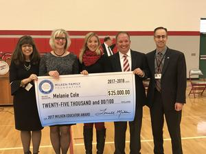 Milken Educator Award