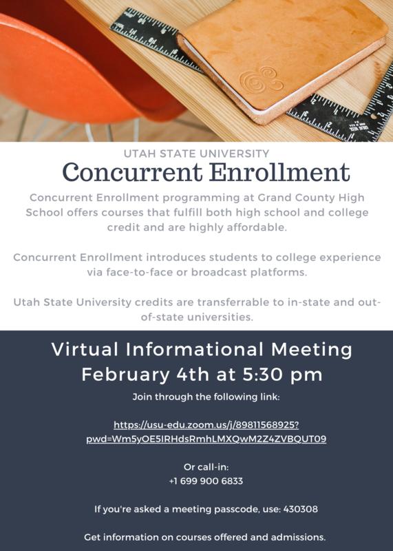 Concurrent Enrollment Q&A Virtual Meeting February 4, 2021 Featured Photo