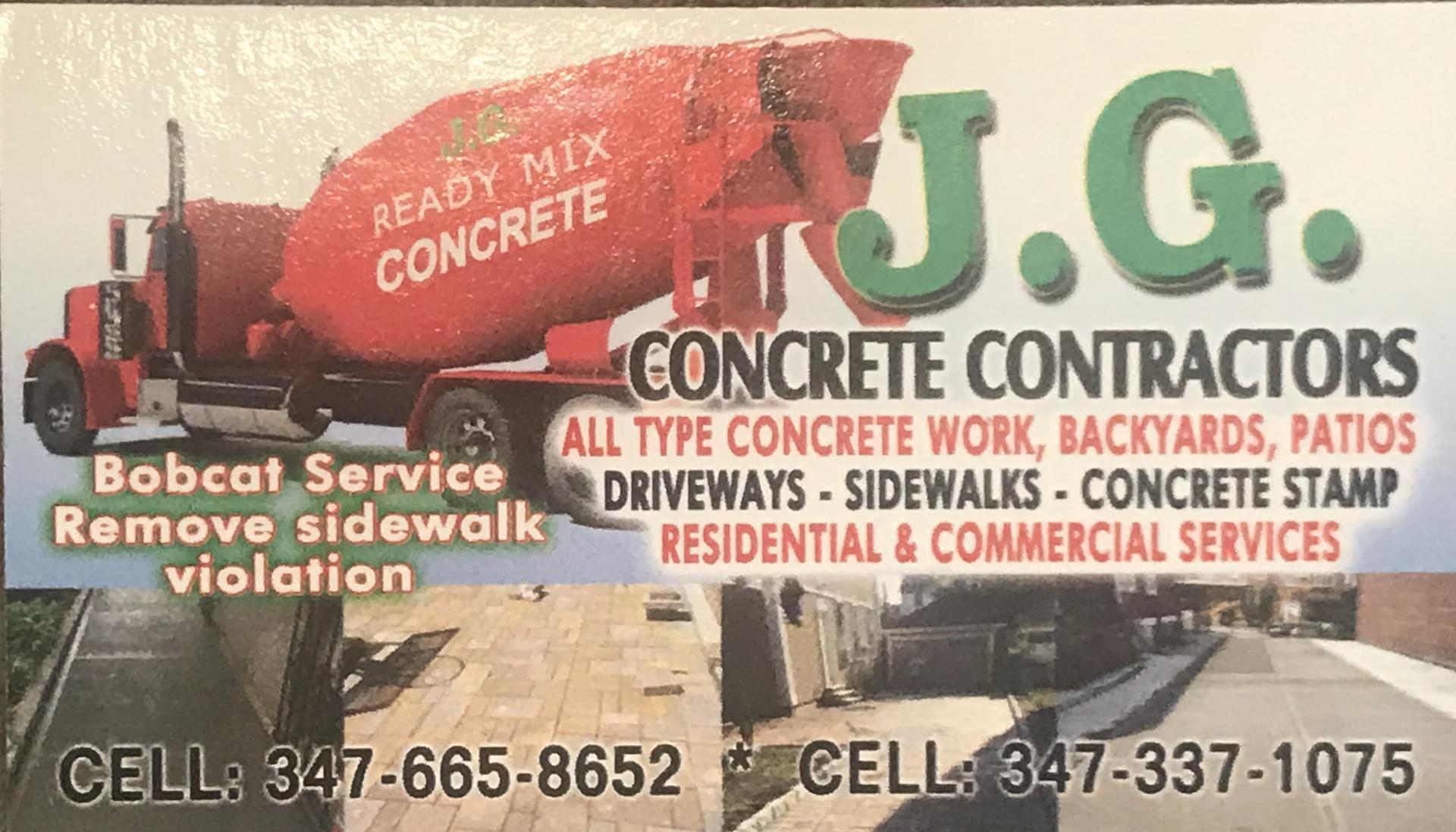 jg concrete
