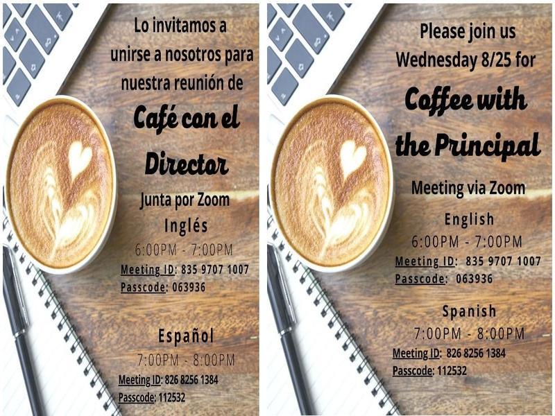 Coffee with the Principal_8-25-21