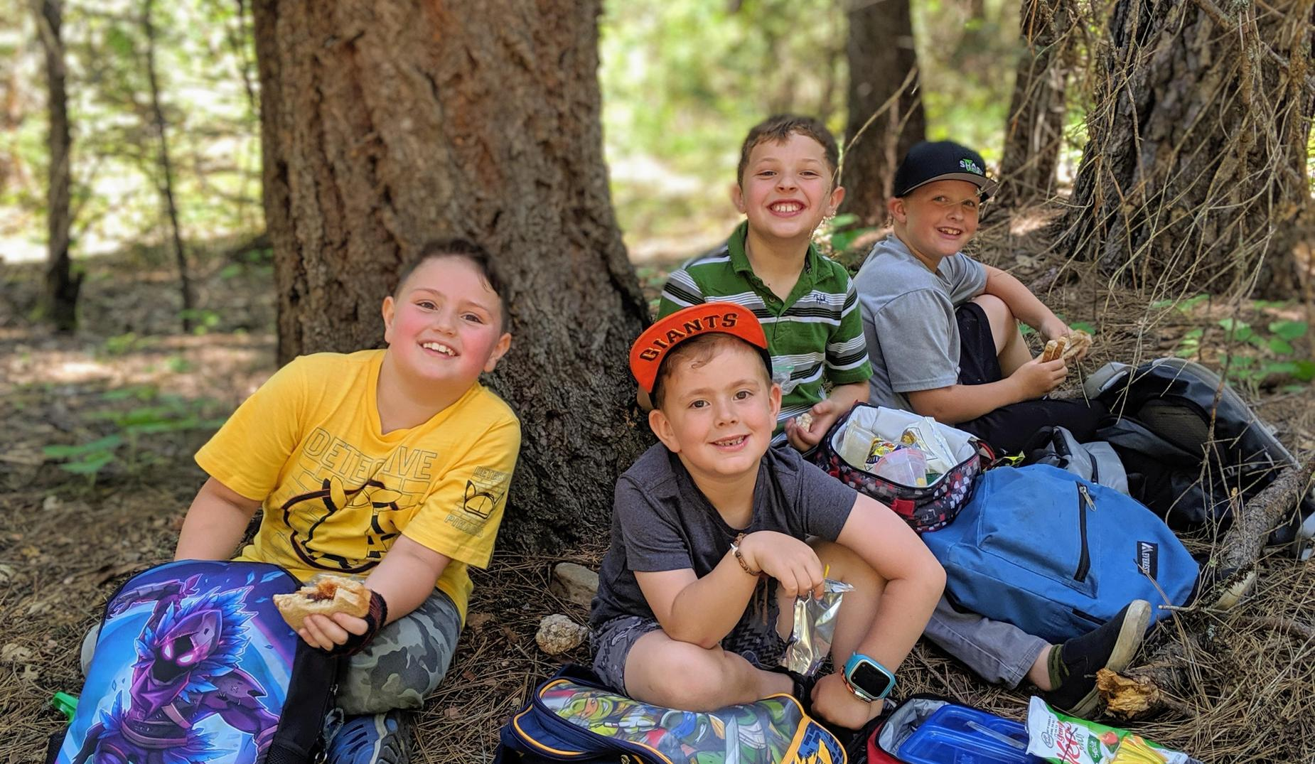 1st grade hike