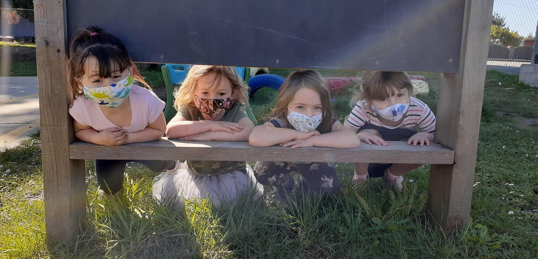 children outside 2021