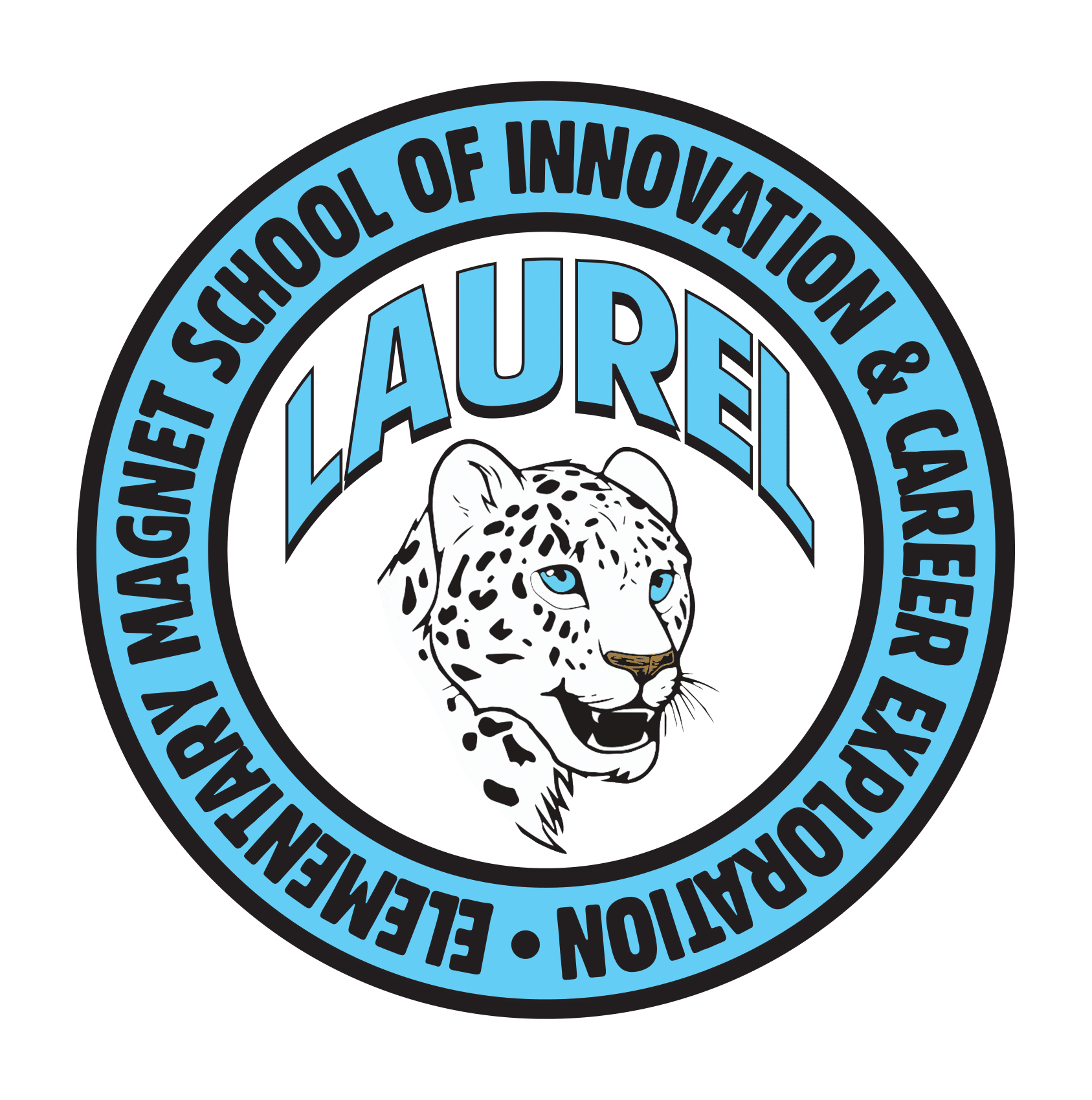 Laurel Leopards Official Logo