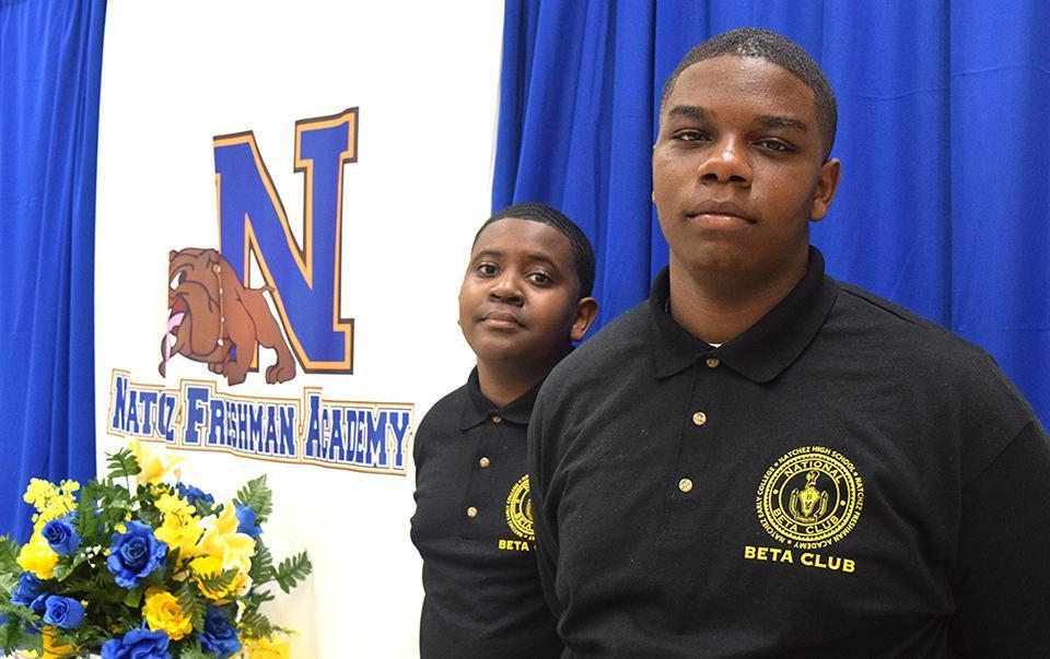 Natchez Freshman Academy BETA Club Members