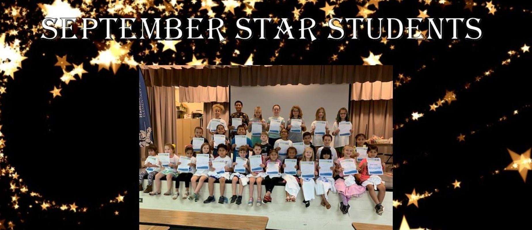 September Star Students