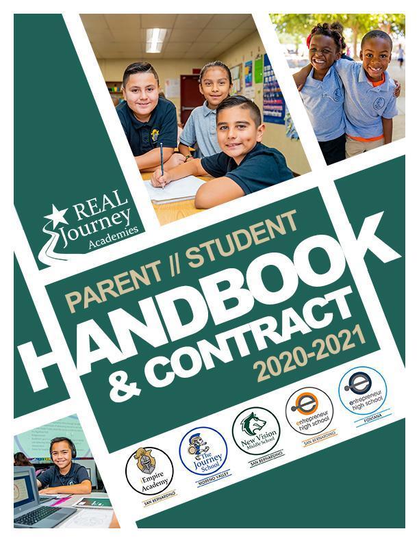 Link to student and Parent handbook