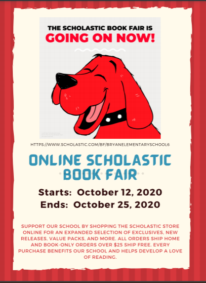 Online Scholastic Book Fair Going on Now! Featured Photo