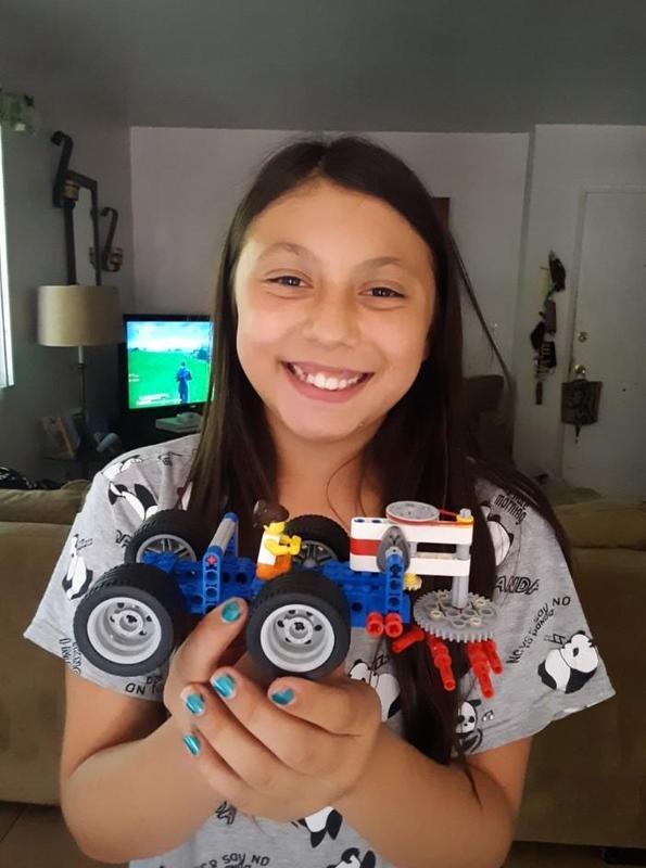 Sixth-grader Isabella Castillo