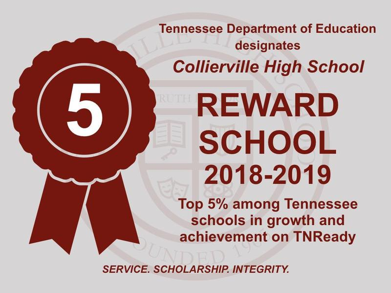 CHS Named a Tennessee Reward School Featured Photo