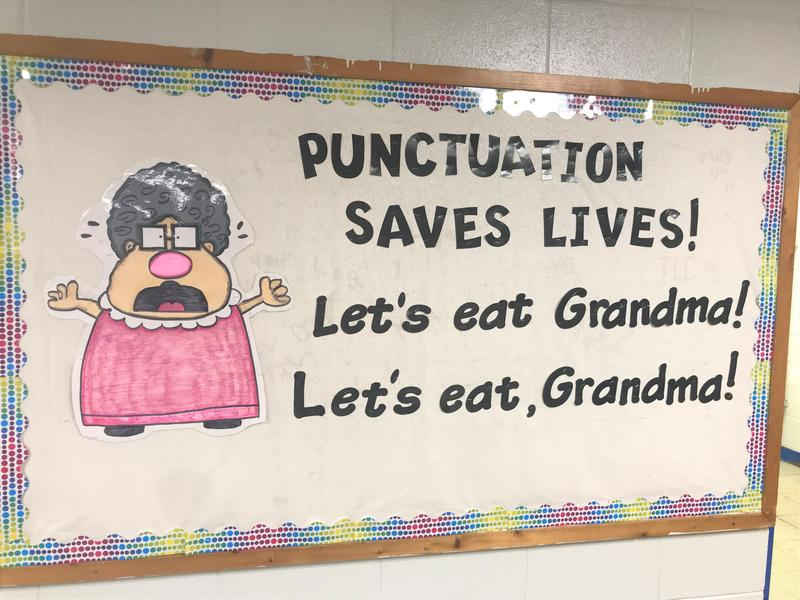 Punctuation Matters Billboard