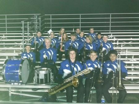 Band performs at Sherman Indian High School