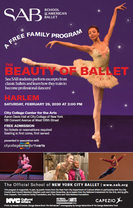 Ballet Flyer English