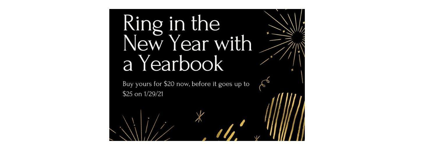 Ring in the New Year yearbooks