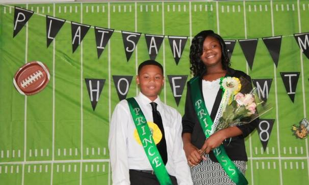 Plaisance Middle School 7th Grade Prince and Princess Jarius Pitre & Courtlynn Rideau !