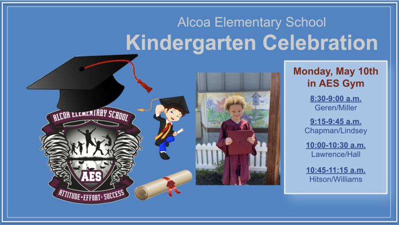 NEW Kindergarten Celebration Information. Featured Photo