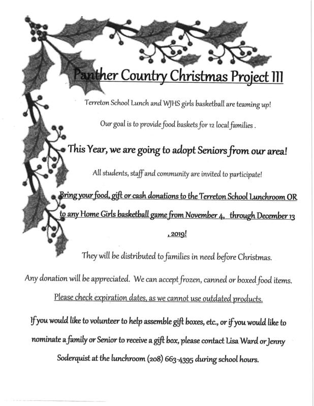 Panther Country Christmas Project