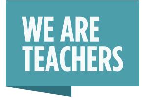 we are teachers logo